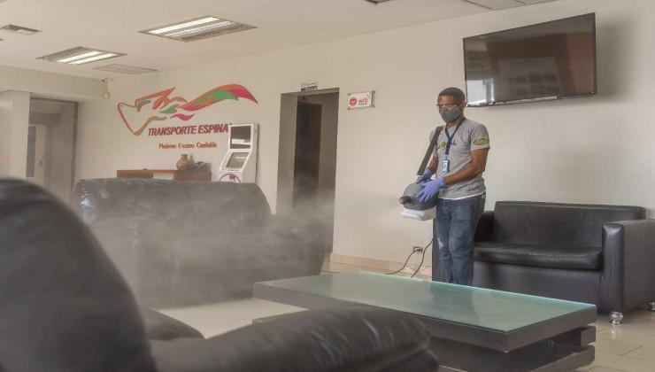 Bomba Pulverizadora (Fogger Frio)